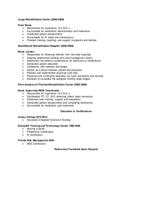 Sample Icu Nurse Resume  Nurse Resumes