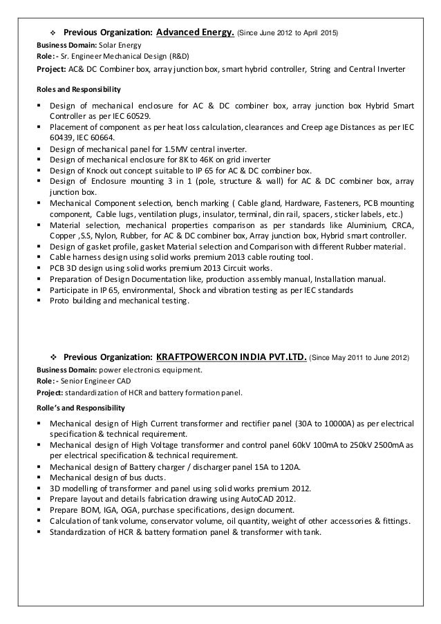 resume for wiring harness engineer for download free