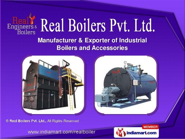 Manufacturer & Exporter of Industrial     Boilers and Accessories