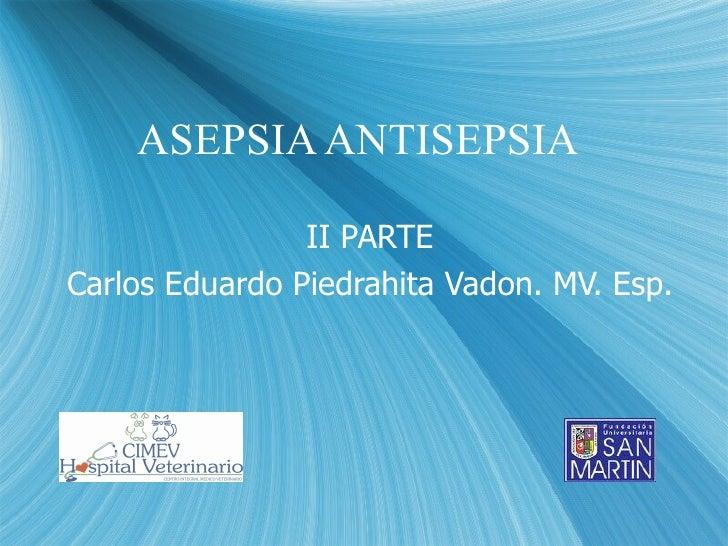 6.1 Asepsia Ii