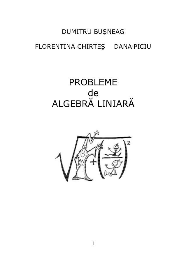 6207247 probleme-de-algebra-liniara-dumitru-busneag
