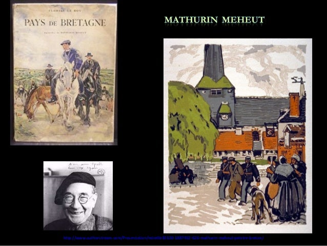 626 - Mathurin Meheut-peintre breton