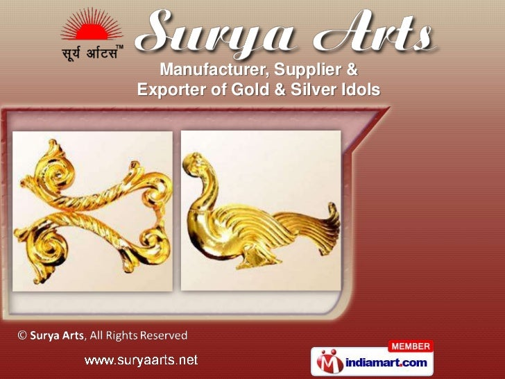 Manufacturer, Supplier &Exporter of Gold & Silver Idols