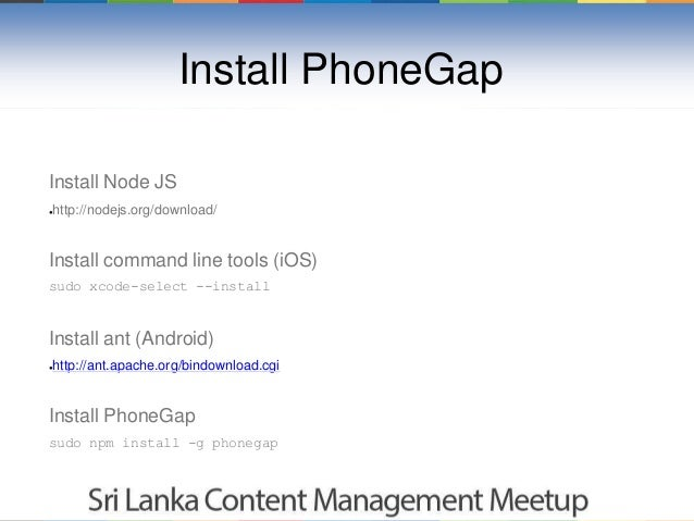 how to develop an ios app using phonegap