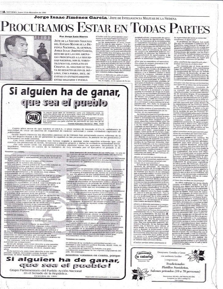 "124   n""EFORMA tunes 1g de diciembre de 1995                                  Jorgte tr sa,ac Jim6nez rsarc               ..."