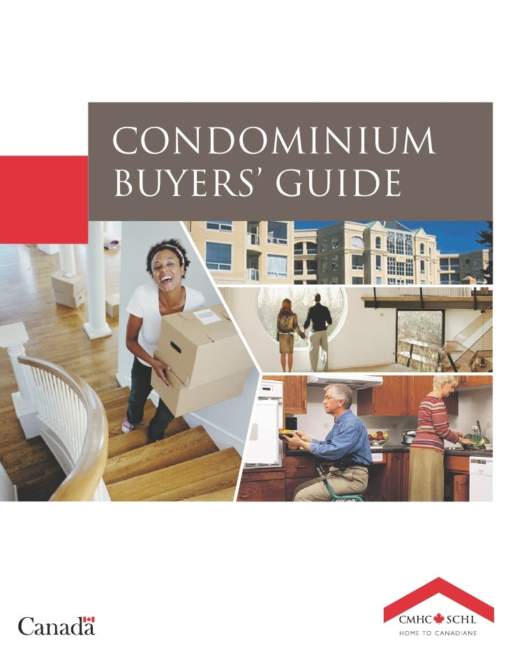 CMHC Condominium Buyers' Guide