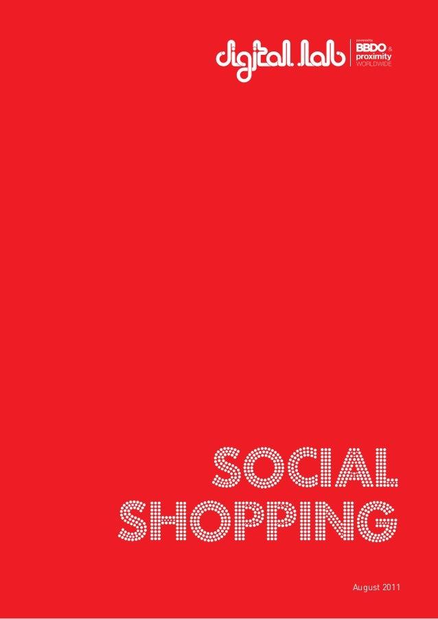 1 Social Shopping August 2011