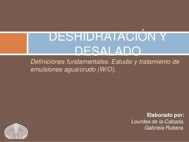 63746851 deshidratacion-y-desalado-de-crudos