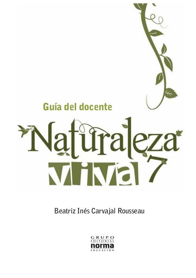 Guía del docente Beatriz Inés Carvajal Rousseau