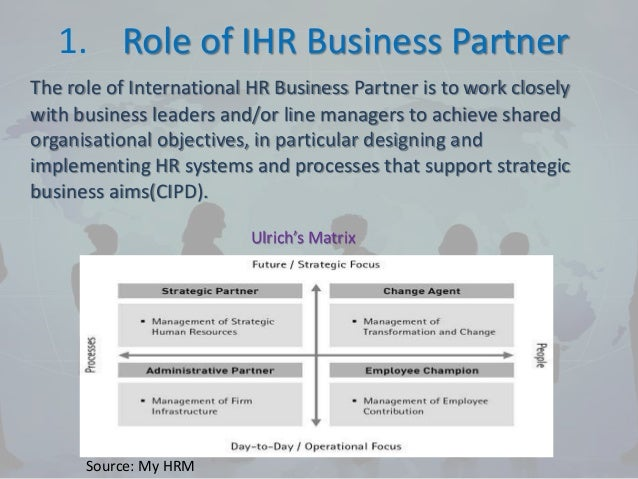 article on role of an hr Because hr is the department that typically gathers the most information on employees, many identity and access management (iam) projects now rely on the records created by the hr department to be the single source of truth concerning the role individuals play inside an organization.