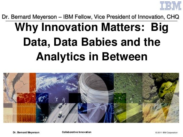 Innovation Matters - Bernie Meyerson