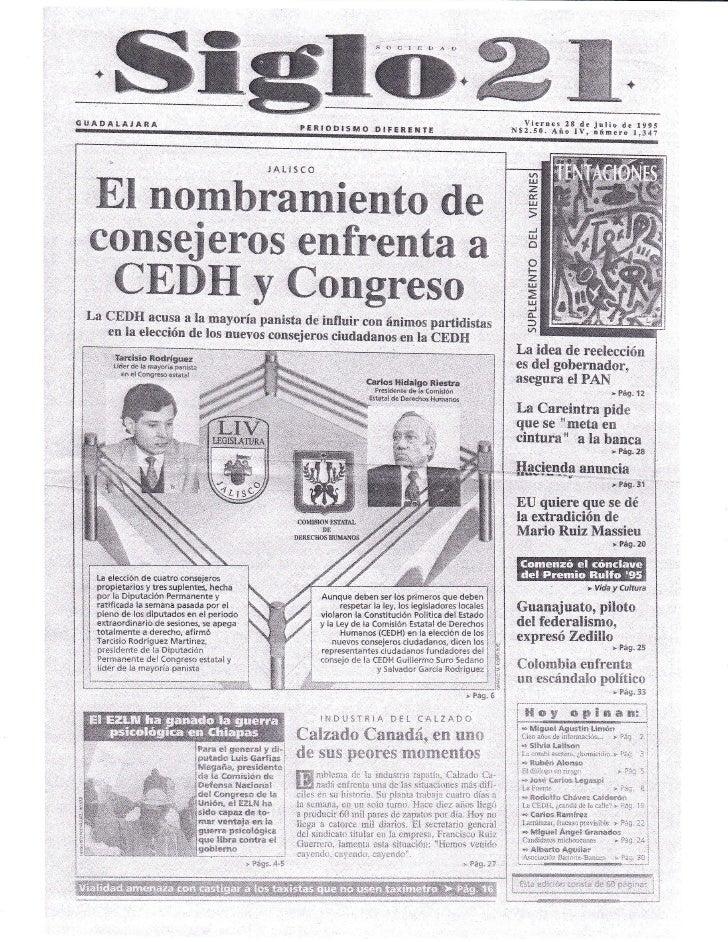 64  - siglo 21 -- reportaje
