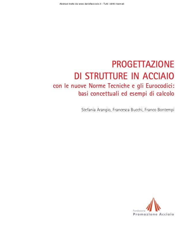 Abstract tratto da www.darioflaccovio.it - Tutti i diritti riservati                          PROGETTAZIONE               ...