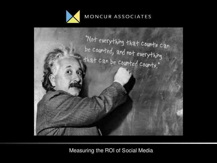 Measuring the ROI of Social Media
