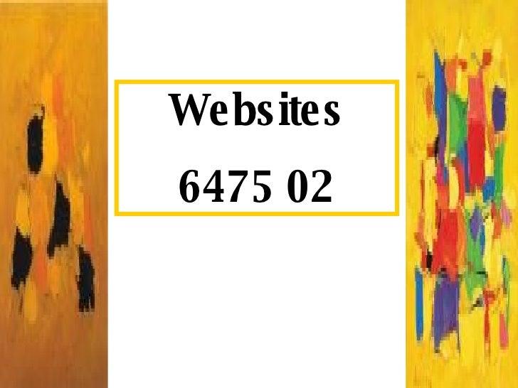 Websites 6475 02