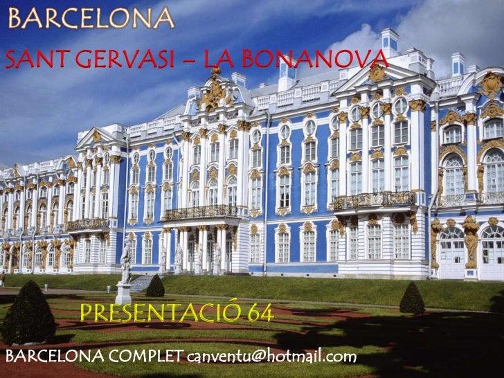 Sant gervasi la bonanova barcelona presentaci n 64 - Tanatori sant gervasi barcelona ...
