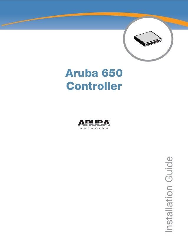 Aruba Design Guide