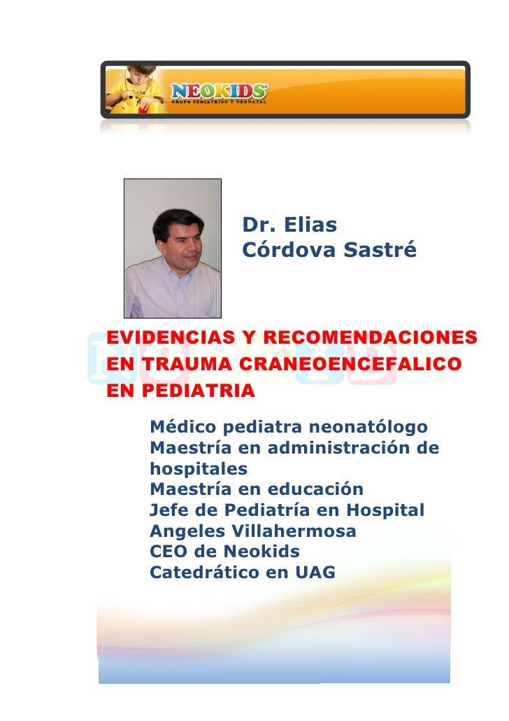 Dr. Elias      ...