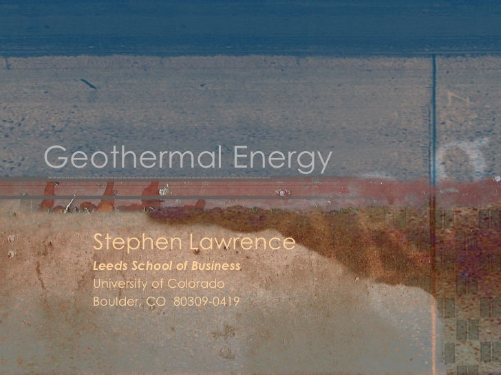 6565045  Geothermal  Energy