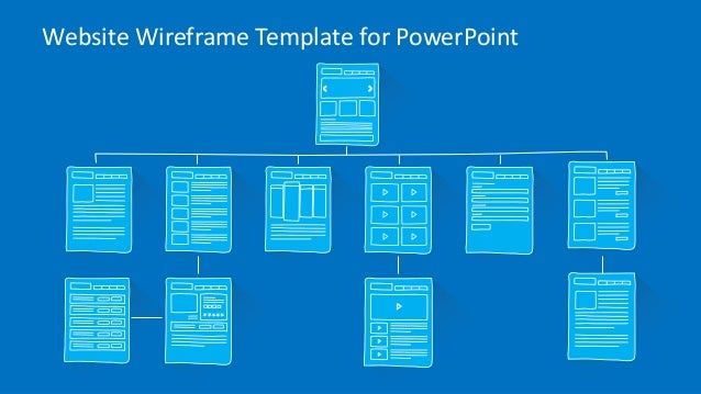 Slidemodel Com Website Wireframe Powerpoint Template