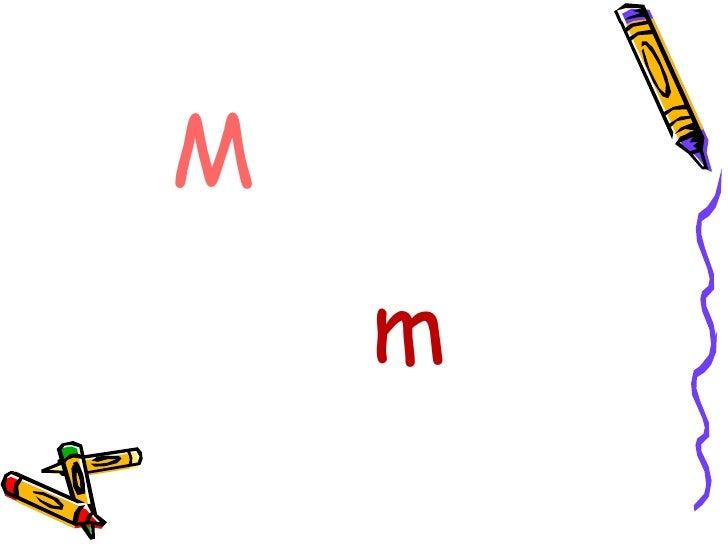 Letra M m