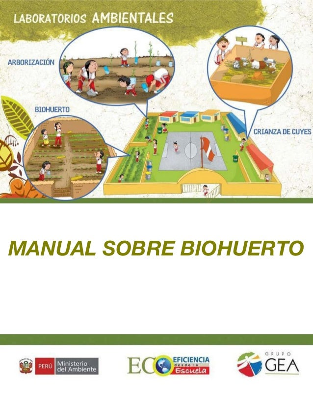 MANUAL SOBRE BIOHUERTO  1