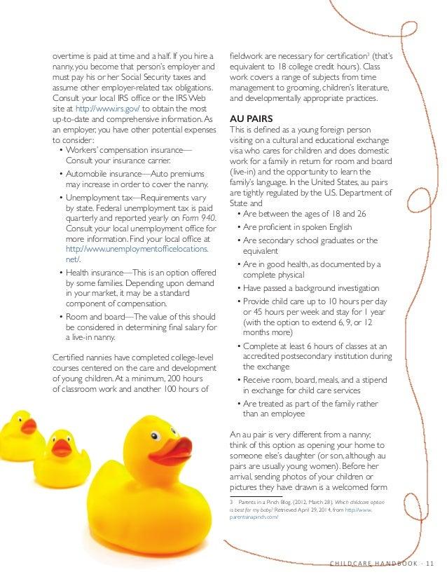 the best nanny handbook pdf