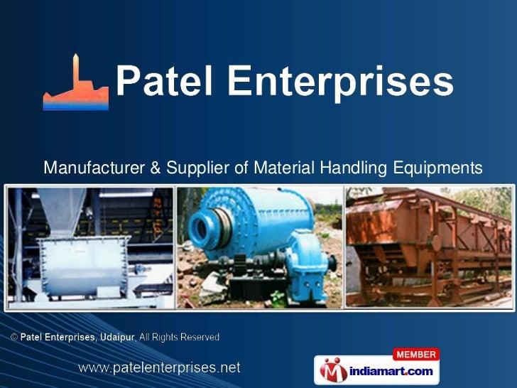 Patel Enterprises  Rajasthan India