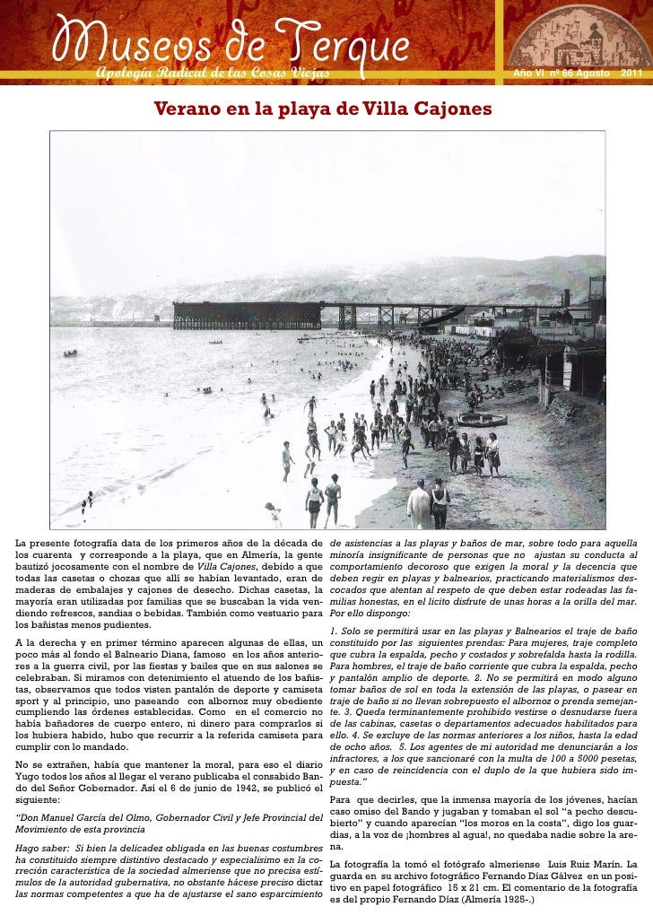 Museos de Terque                  Apología Radical de las Cosas Viejas                                                    ...