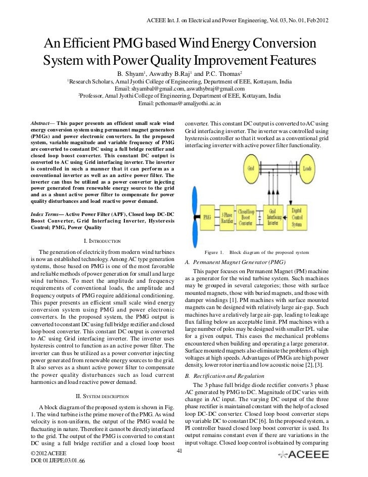 thesis paper on power factor improvement