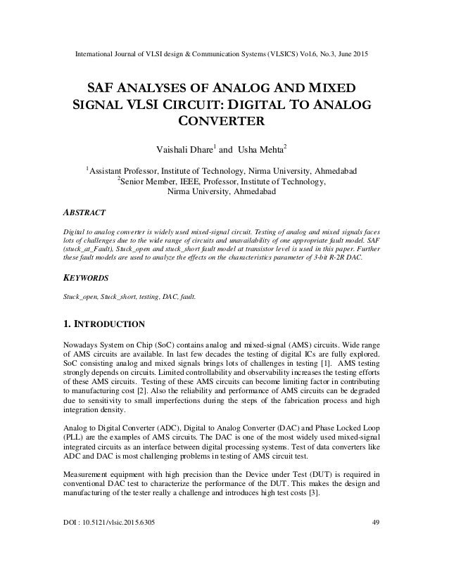 myths of analog and mixed-signal ASIC design EE Times