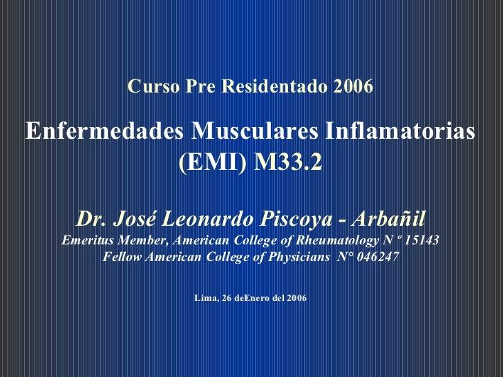 66. enfermedades musculares inflamatorias