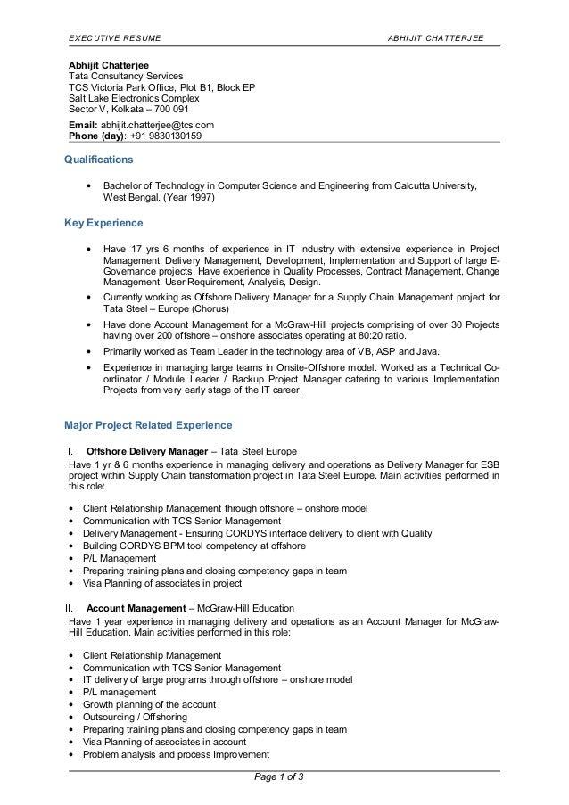 upload resume tcs