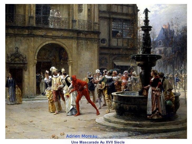 Adrien Moreau  Une Mascarade Au XVII Siecle