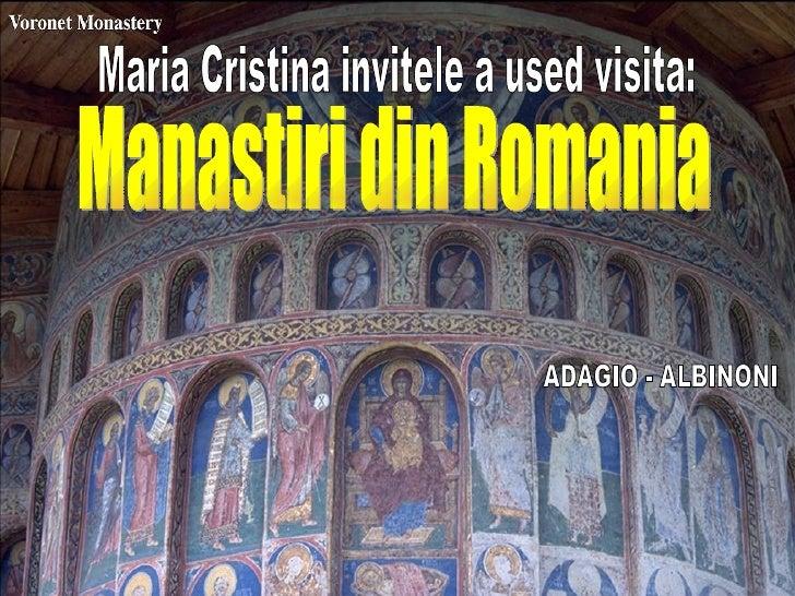 Mânastiri din România - 2