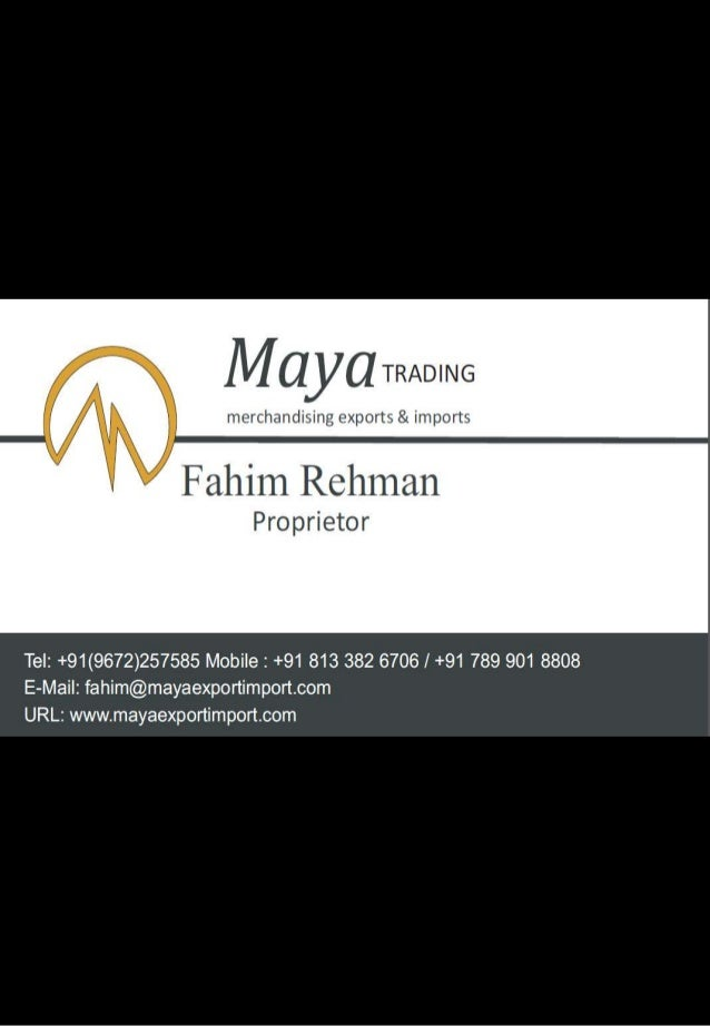 MAYA TRADING - LAMINATE FLOORING