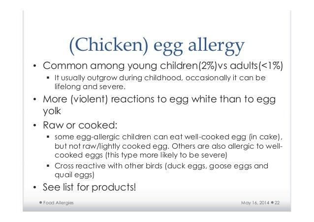 egg sensitivity