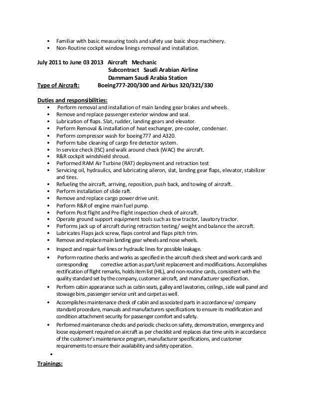 amt resume