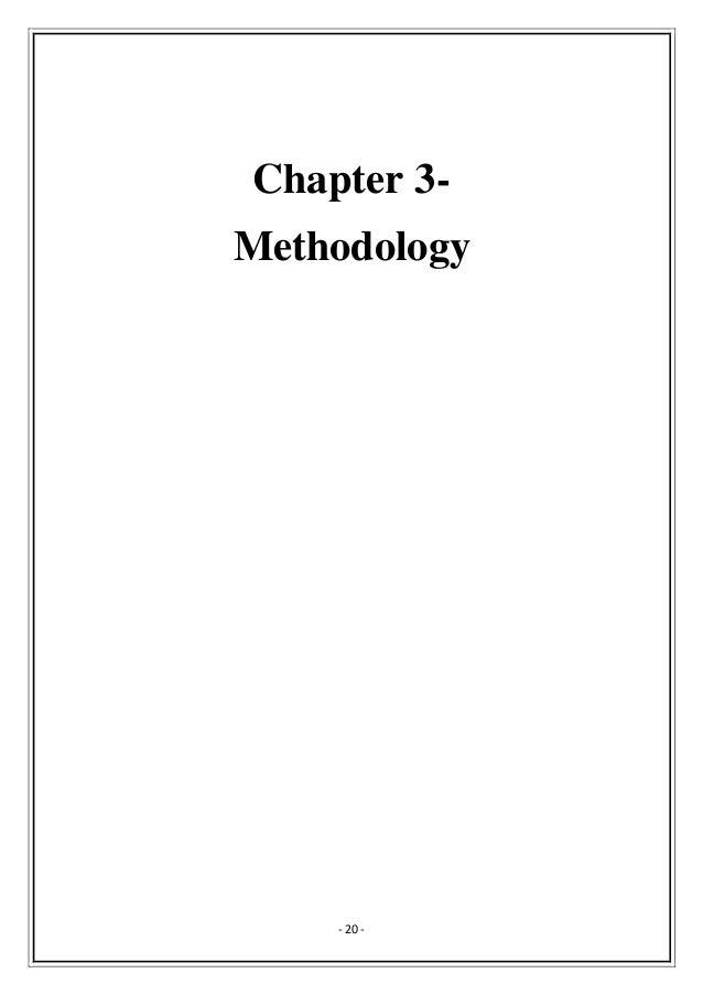 Undergraduate dissertation