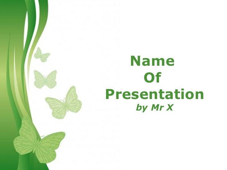 Green Butterflies Background