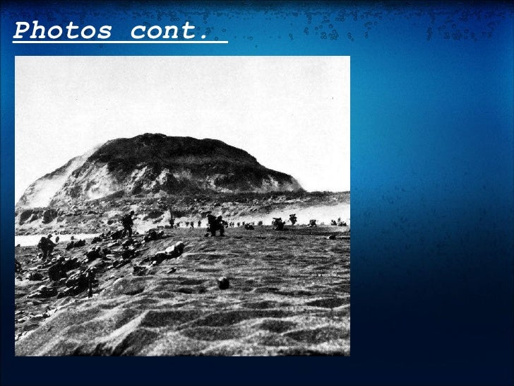 the ballte of iwo jima mission Battle of iwo jima: us seaman first class william p campbell, jr took part in the invasion complete coverage after it flew on iwo jima, the ceremonial flag was preserved by the marines.