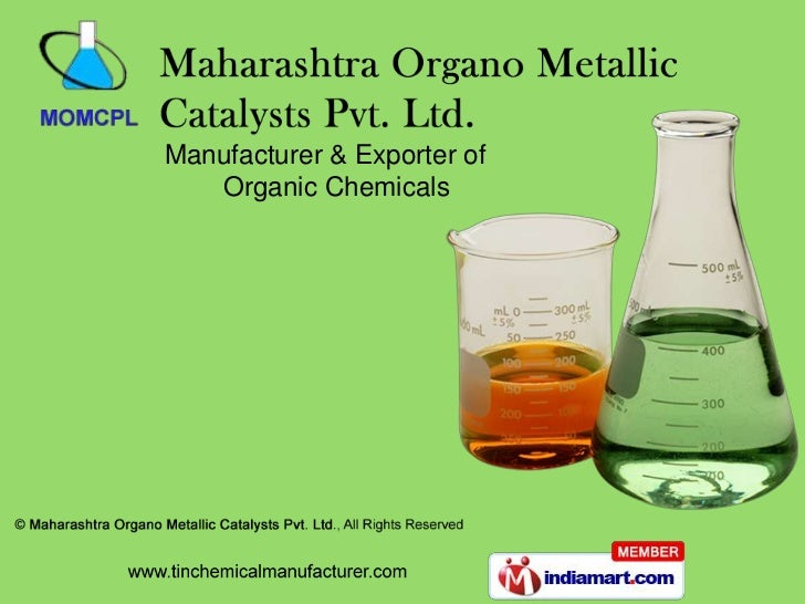 Manufacturer & Exporter of   Organic Chemicals