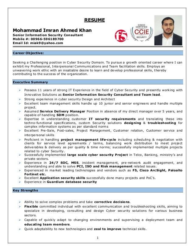 senior information security engineer cv imran v1 3