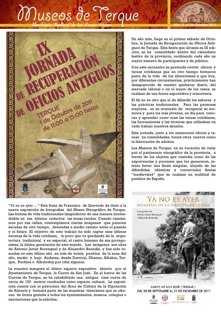 Boletin 68 Octubre 2011