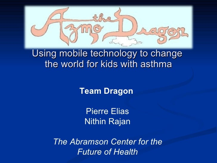 Using mobile technology to change the world for kids with asthma
