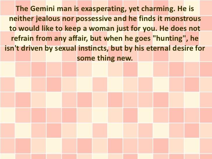 when a gemini man loves you