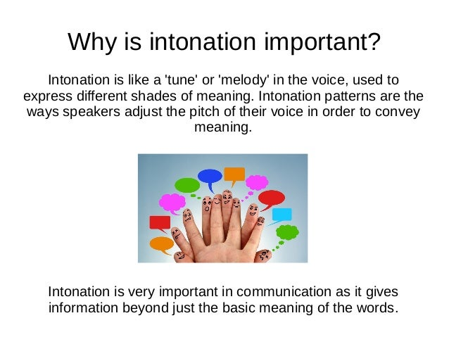 What are the basic intonation patterns?