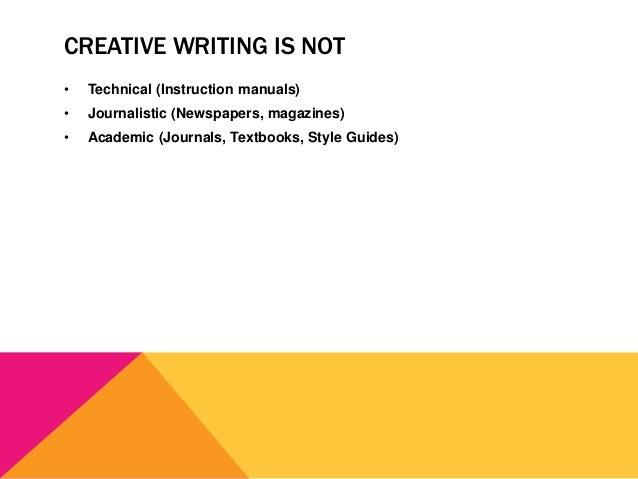 Creative writing instruction