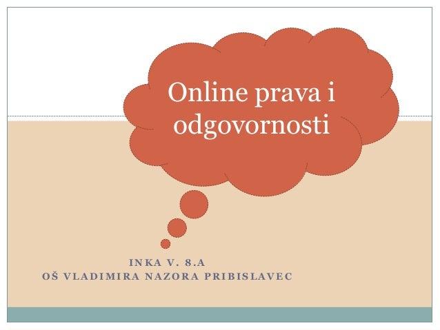 686 Online prava i odgovornosti