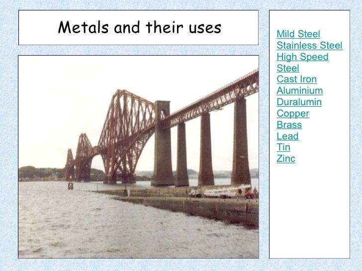 Metals Presentation Study Guide